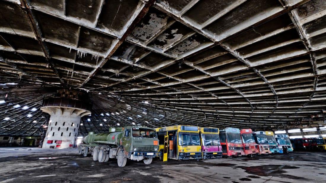 Автобусный парк №7 попал в поле зрения CNN / CNN/Oleg Totskiy