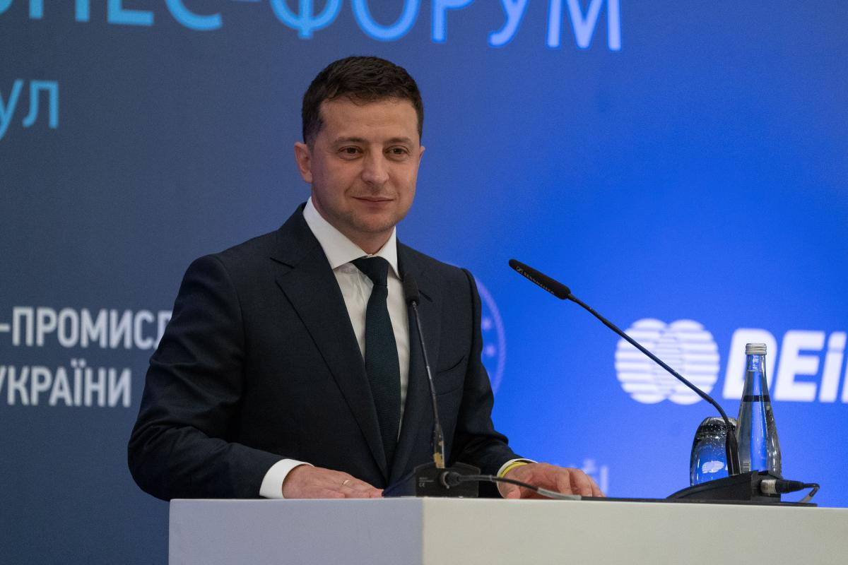 Зеленский пообещал сделать условия для работы бизнесав Украине привлекательными / фото president.gov.ua