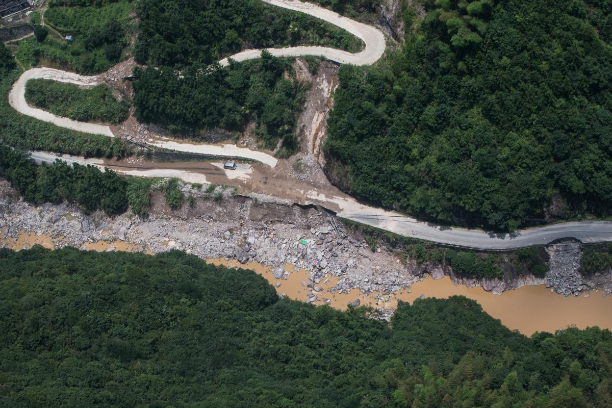 Последствия тайфуна в Китае / REUTERS