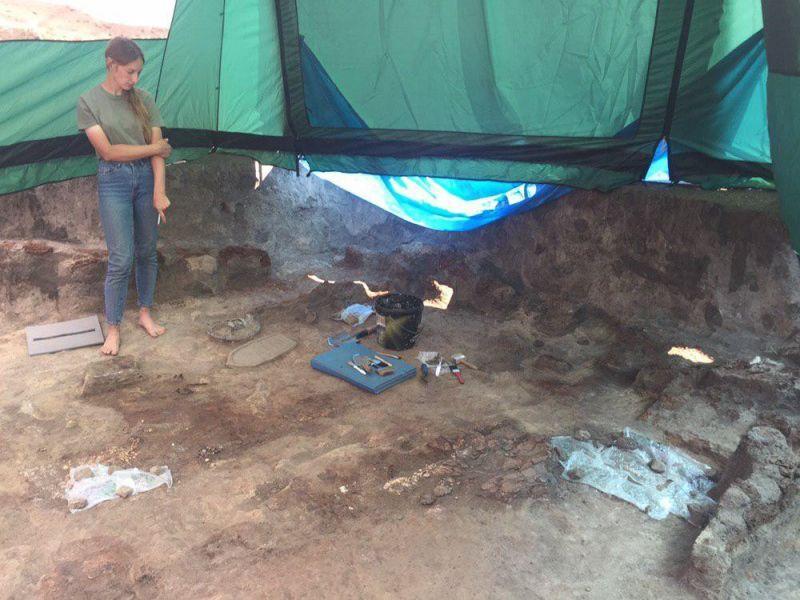 На Більському городищі знайшли четверте, з 1906-го року, не розграбоване поховання / фото з сайта central-ua.tv