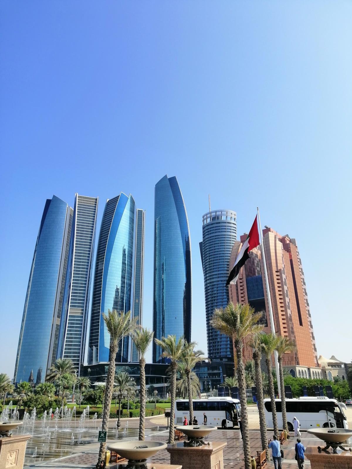 Абу-Даби гордится своими небоскребами / Фото Нина Жильцова