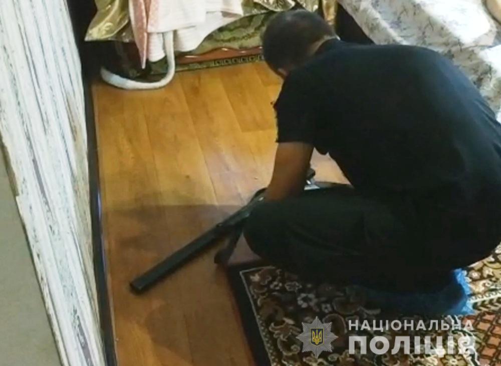 Охотничье ружье зарегистрировано в соответствии с украинским законодательством / od.npu.gov.ua