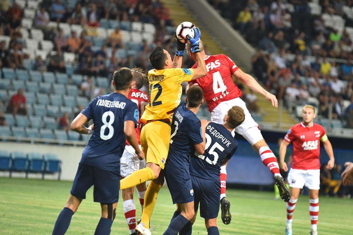 В первом матче Мариуполь и АЗ голов не забили / фото: fcmariupol.com