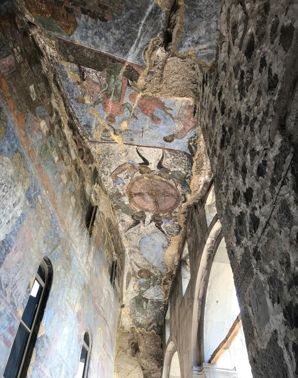 Этими фресками любовалась царица Тамара