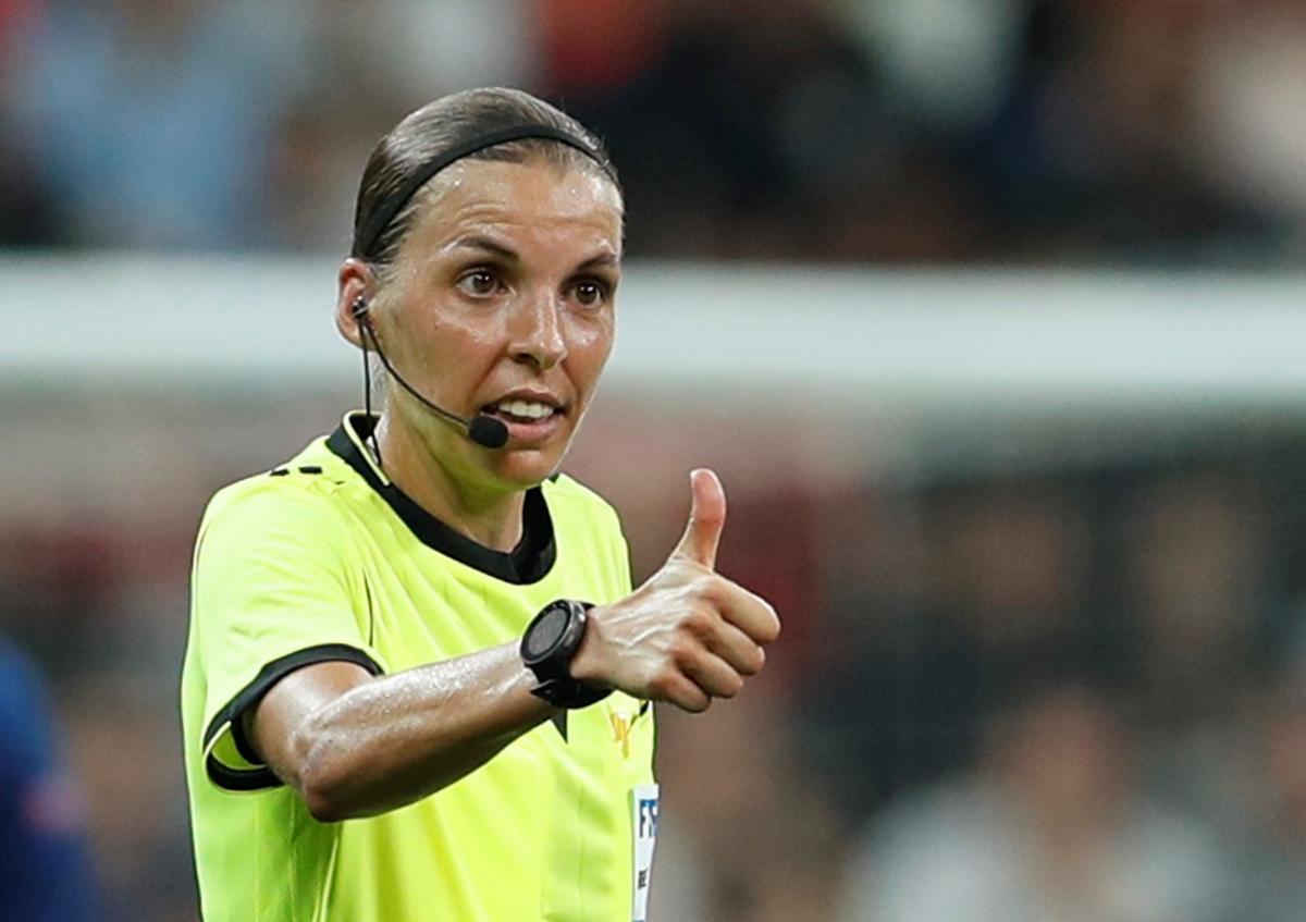 Стефани Фраппар будет судить матч Ювентуса противДинамо/ фото REUTERS