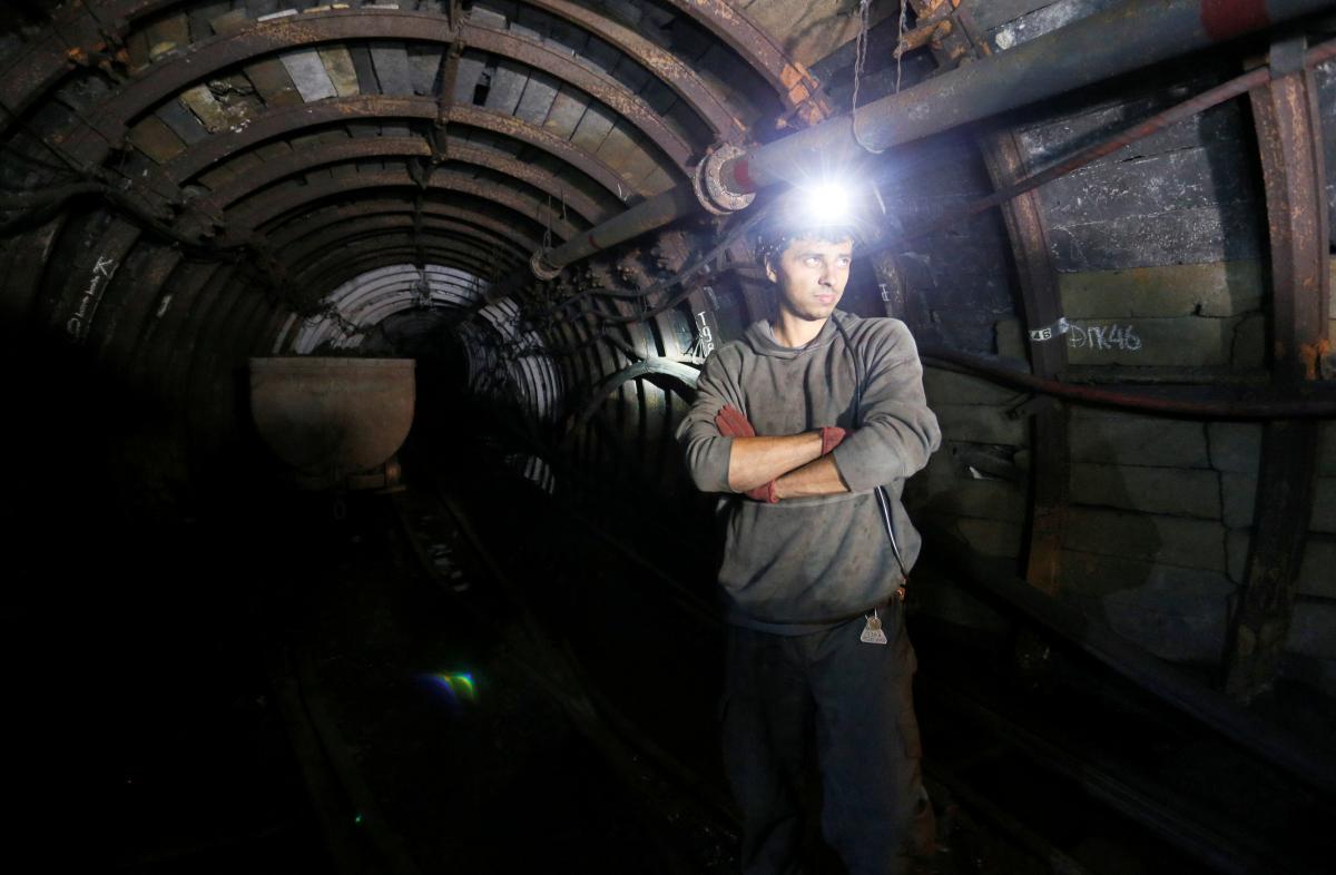 День шахтера 2021 Украина / фото REUTERS