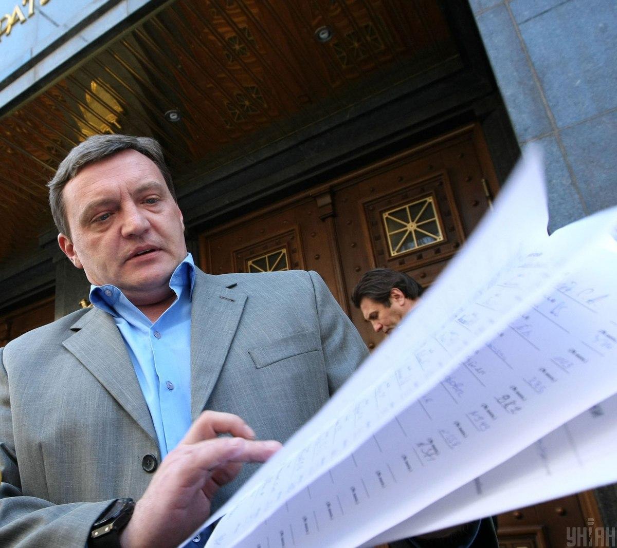15 августа Грымчаку и его помощнику было сообщено о подозрении в мошенничестве / фото УНИАН