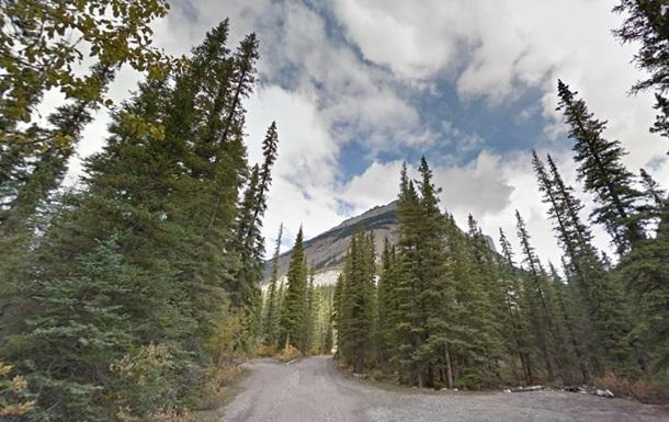 Напад вовка ставсяв національному парку Банф в Канаді / фото: карта Google