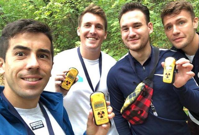 Карлос де Піна і Міккель Дуэлунд провели вихідний на екскурсії / фото: instagram.com/duelund_99/