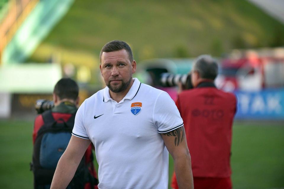 Александр Бабич возглавлял Мариуполь с 2017 года / фото ФК Мариуполь