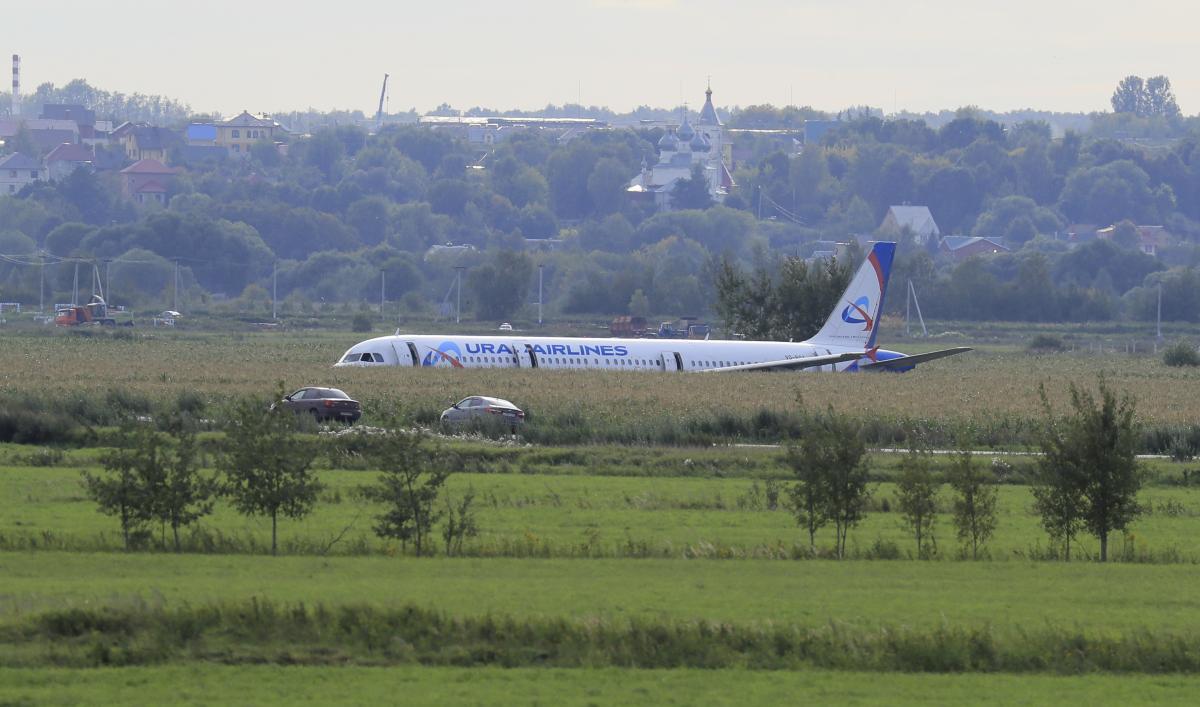 Самолет совершил аварийную посадку посреди поля с кукурузой / REUTERS