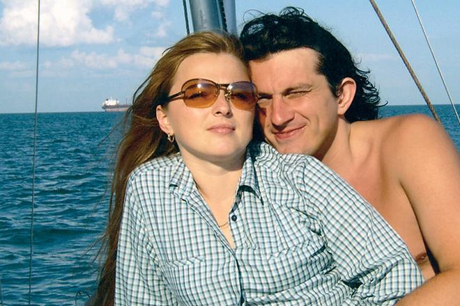 Кузьма з дружиною Світланою / фото 24smi.org