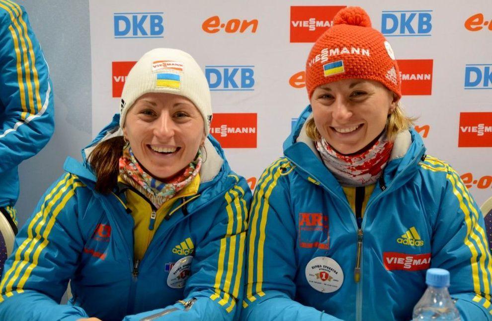 Сестры Семеренко выступят на летнем ЧМ / фото: biathlon.com.ua