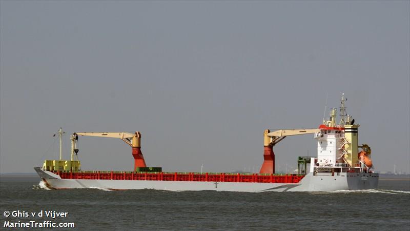У берегов Африки захватили судно с украинцем / marinetraffic.com