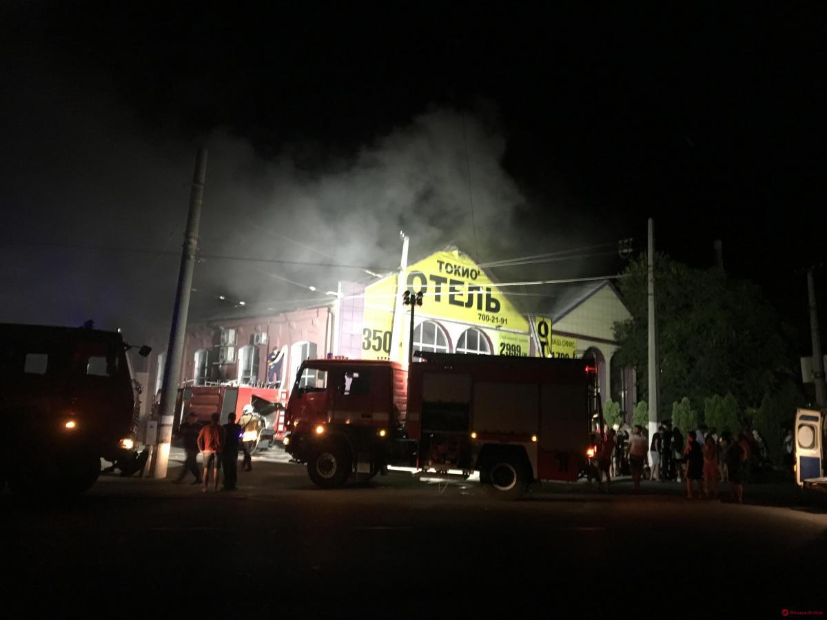 Всі постраждалі від пожежі в готелі — стабільні / фото: odessa.online