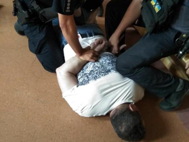 Затримано майора поліції Фількінштейна, 1973 року народження / фото: Ярослав Гришин/Facebook
