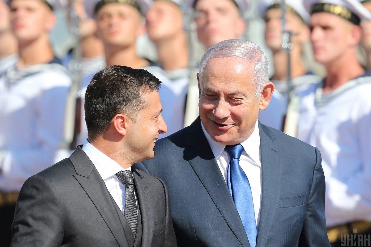 Сегодня состоялся первый визит Биньямина Нетанияху в Киев за последние 20 лет / фото УНИАН