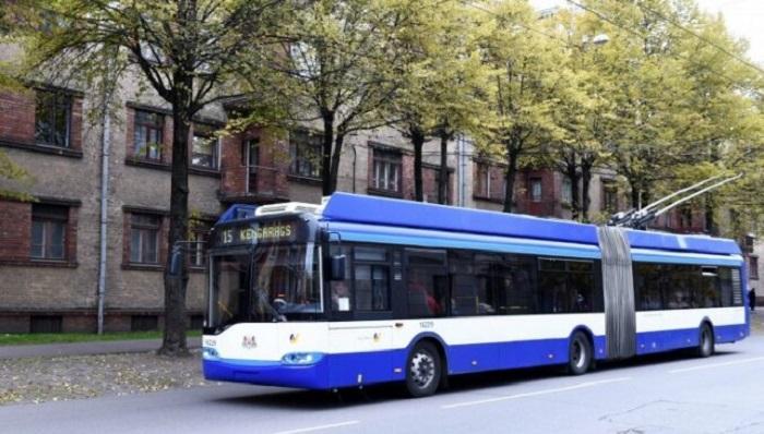 На улицах Риги насчитали 17 троллейбусных маршрутов / Фото: Leta