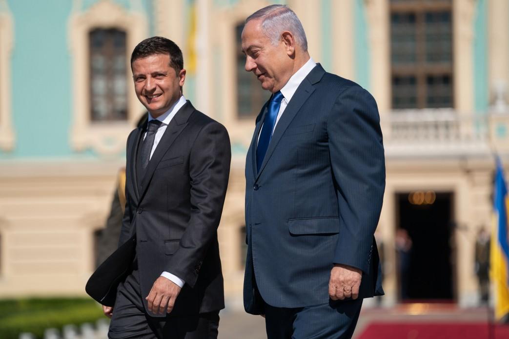 Зеленский и Нетаньяху обсудили вопросы мира и безопасности / president.gov.ua