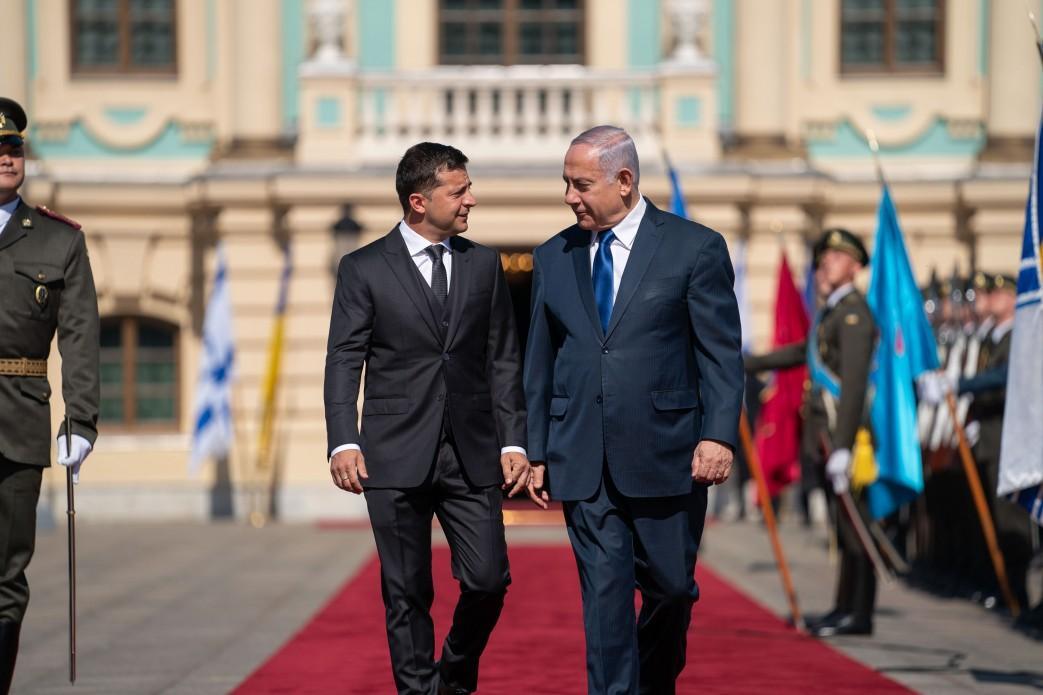 Зеленський обговорив із Нетаньягу питання відмови українцям ув'їзді до Ізраїлю / фото:president.gov.ua