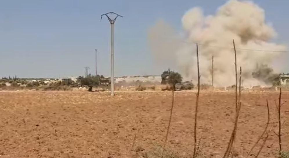 Війська Асада похвалилися авіаударом по військовій колоні Туреччини/ Al-Masdar News