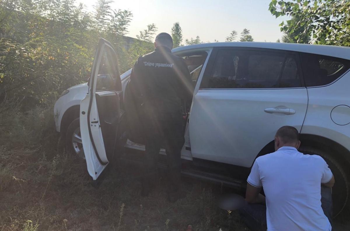 Поліцейські знайшли автівку зниклих 17 серпня матері й доньки / фото: Нацполіція
