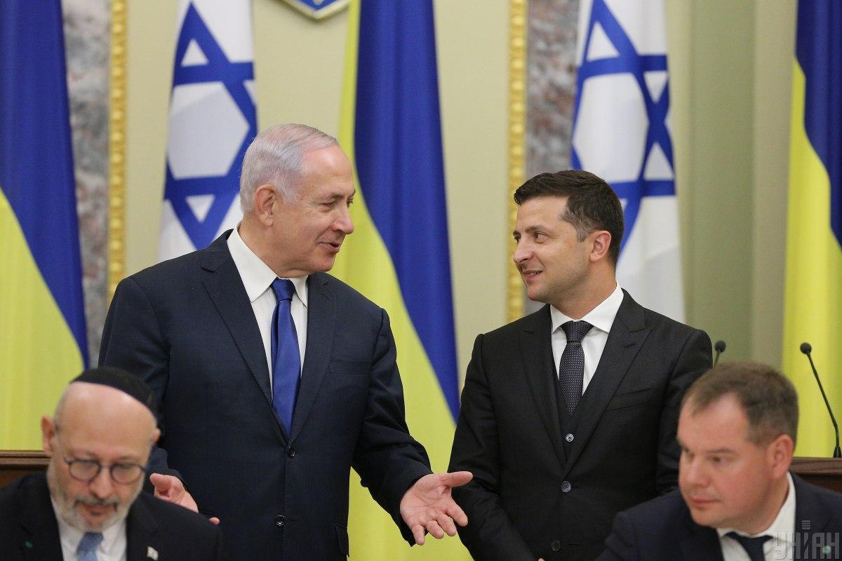 Нетаньяху хочет склонить на свою сторону избирателей, которые происходят из Украины / фото УНИАН