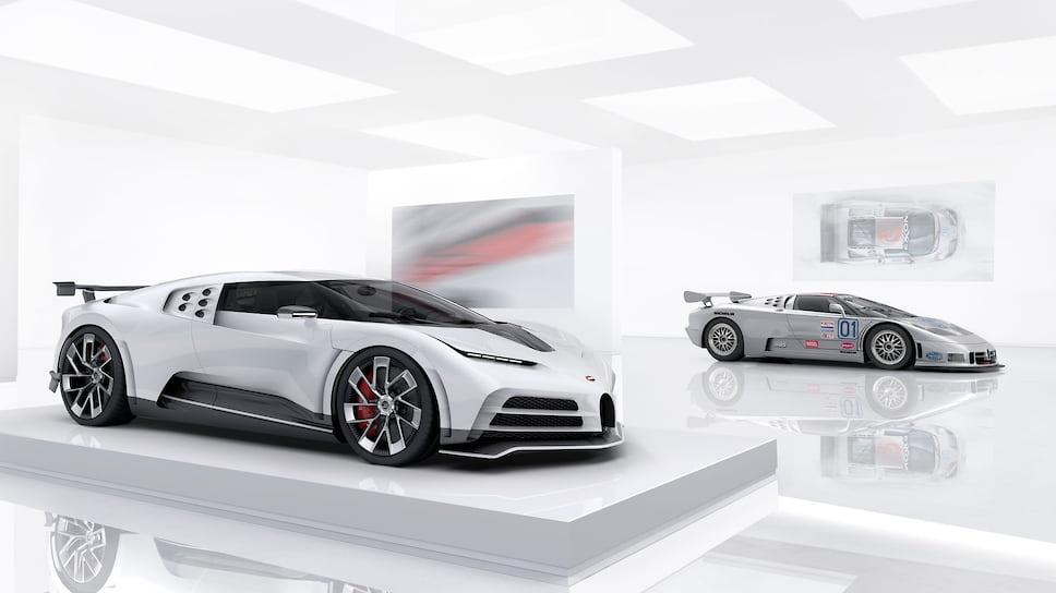 Bugatti розсекретила 1600-сильний гіперкар Centodieci / фото Bugatti