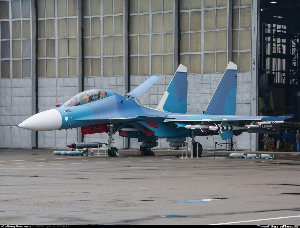 В РФ показали новые Су-30 для Беларуси / bmpd.livejournal.com