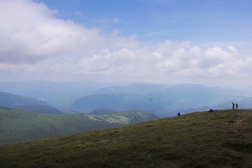 Підйом на гору хоч і складний, але з приголомшливими краєвидами / Фото: Аліна Вірстюк