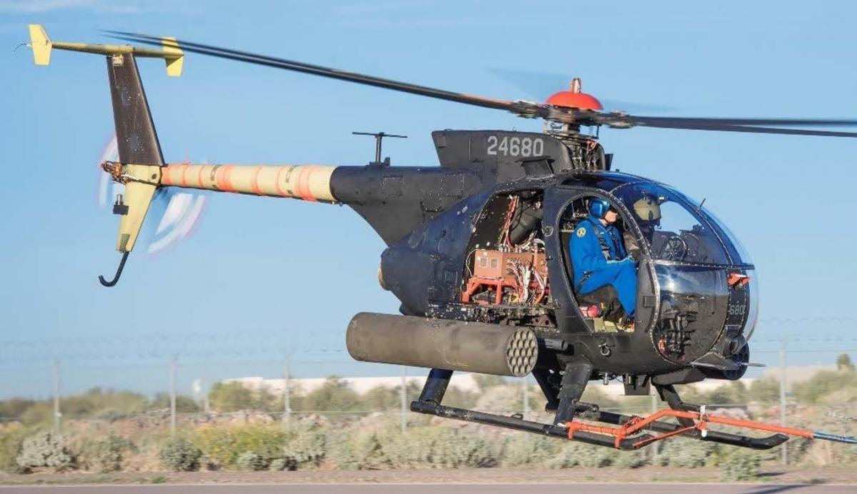 Грузоподъемностьвертолета увеличилина 220 килограммов / фото: Defence-blog