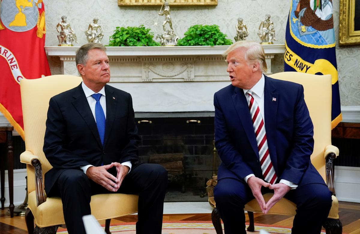 Дональд Трамп и Клаус Вернер Йоганніс / REUTERS