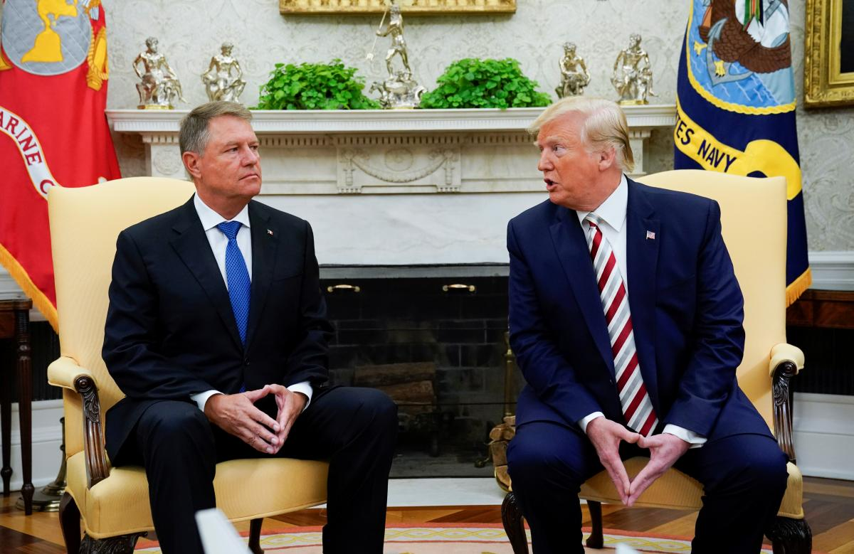 Дональд Трамп і Клаус Вернер Йоганніс / REUTERS