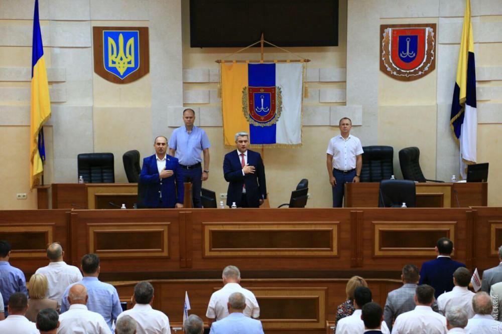 Одесский облсовет принял отставку председателя Анатолия Урбанского / фото dumskaya.net
