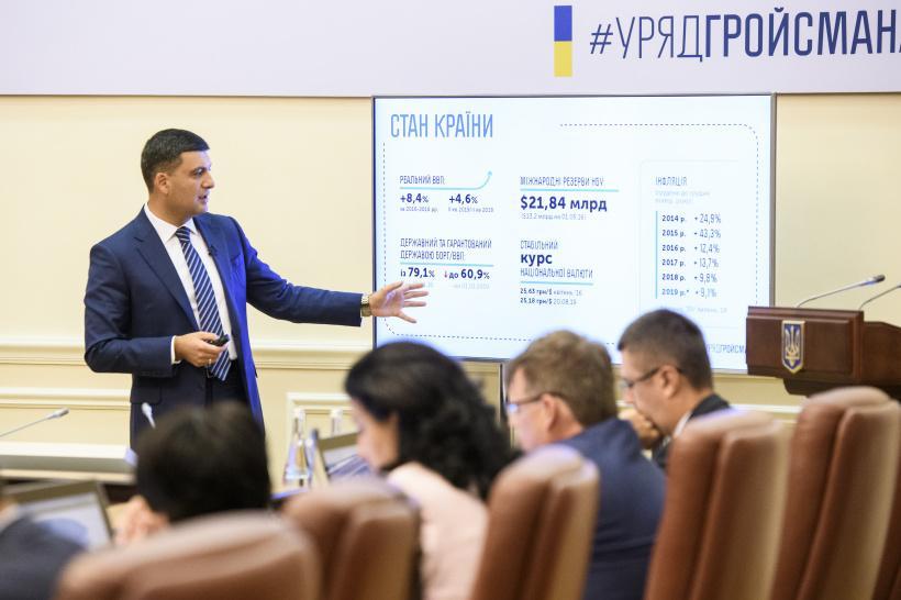 Гройсман дал прогноз поразмеру средней заработной платы  вУкраинском государстве