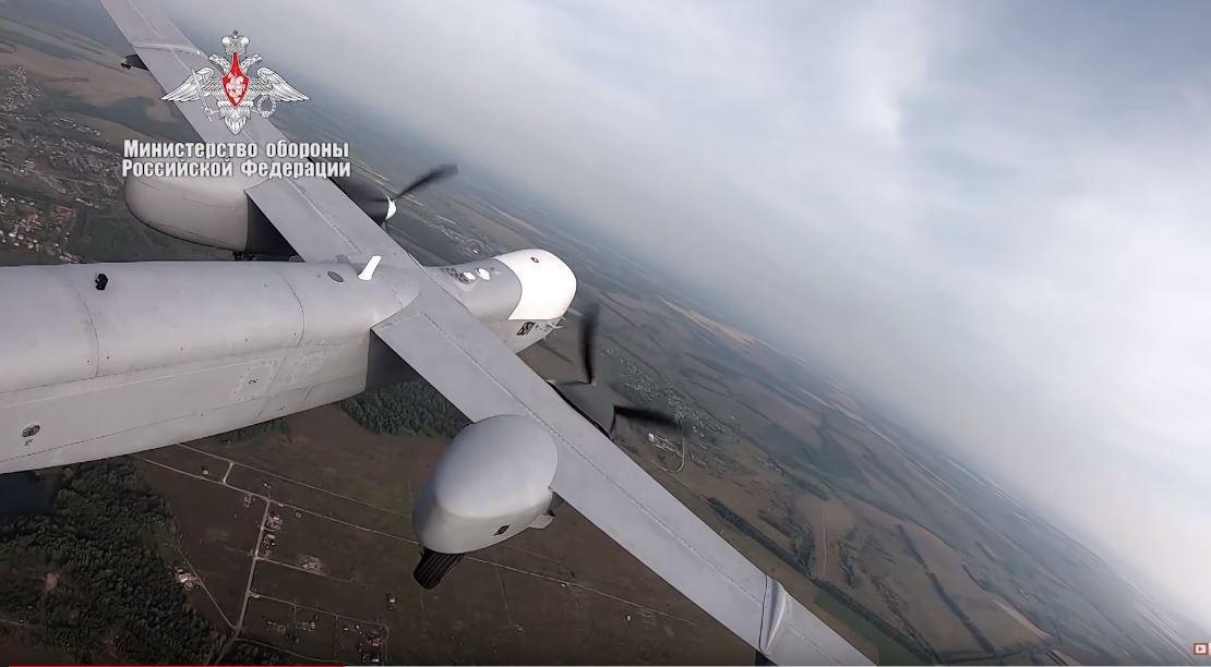 Росія показала перший політ безпілотника Altius-U / Министерство обороны РФ