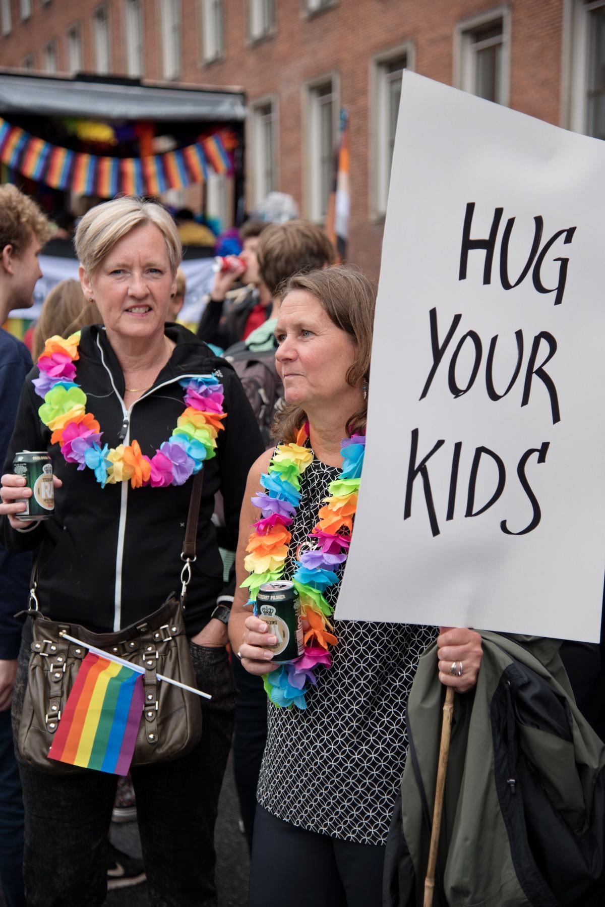 Прайд-парад - це в першу чергу про толерантність і любов / Фото Андрій Вацик