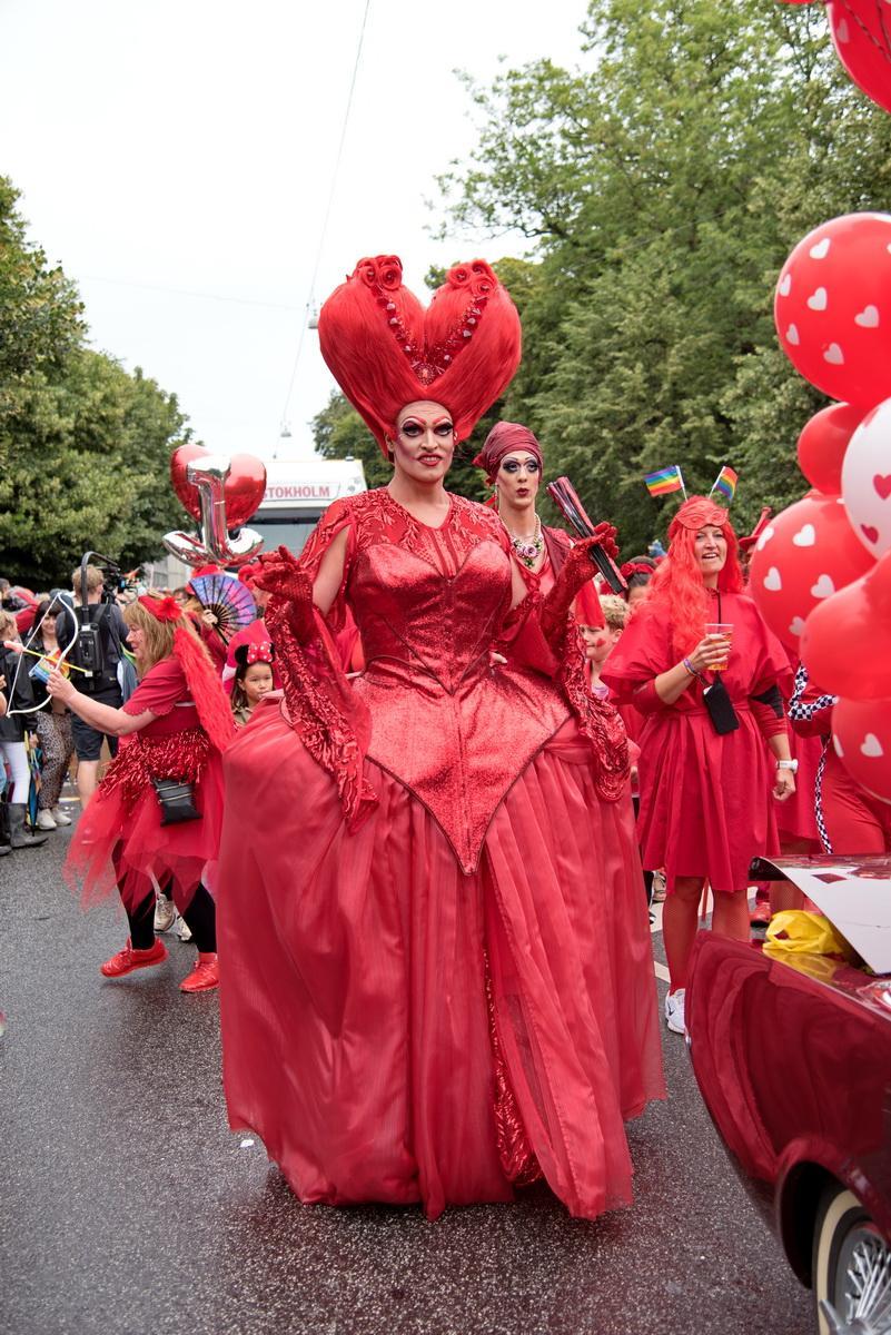 Прайд-парад у Копенгагені часом був більше схожий на справжній карнавал / Фото Андрій Вацик