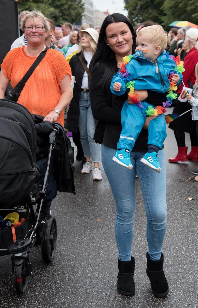 Відвідували прайд-парад і найменші данці / Фото Андрій Вацик
