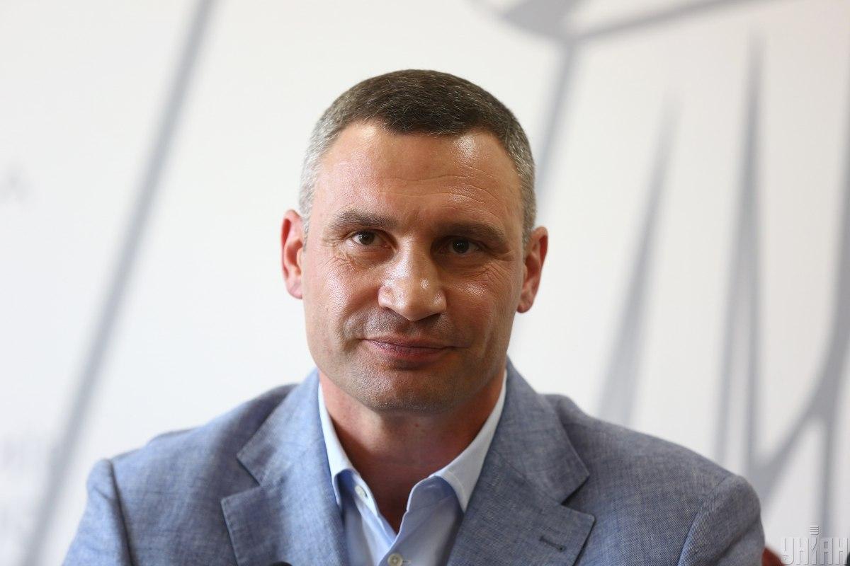 """Кличко ответил Зеленскому на его слова о том, что """"не надо воровать из бюджета"""" / фото kiev.klichko.org"""