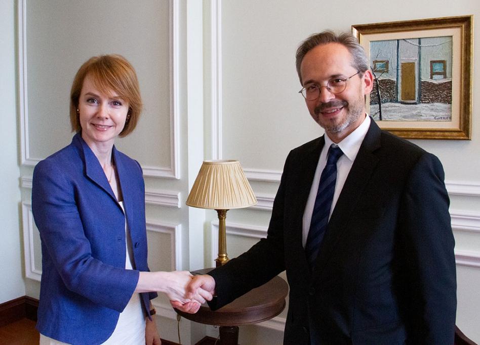 Посол Австрії вручив копії вірчих грамот заступниці глави МЗС / фото mfa.gov.ua