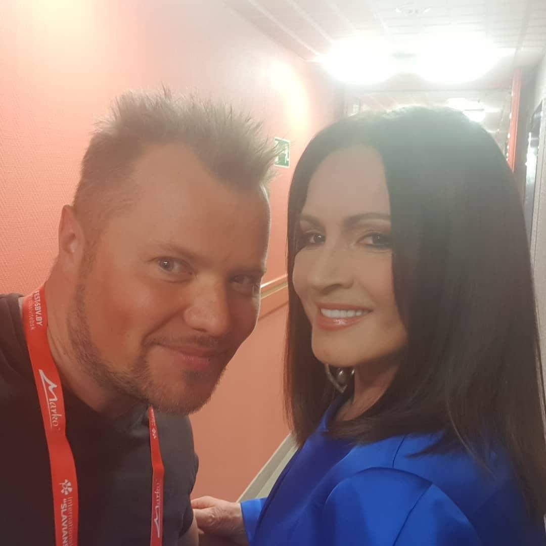Ротару и Попов после концерта / instagram.com