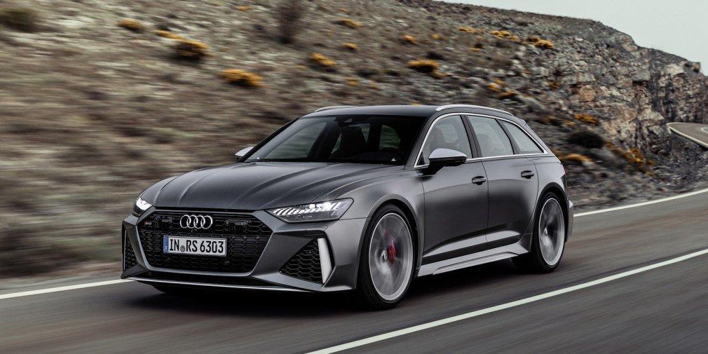 Новий Audi RS6 Avant оснастили чотирилітровим двигуном V8 з двома турбінами / фото Audi