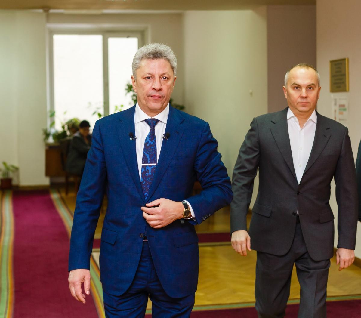 Бойко и Шуфрич уверяли Time, что Украина вмешивалась в выборы США / пресс-служба Нестора Шуфрича