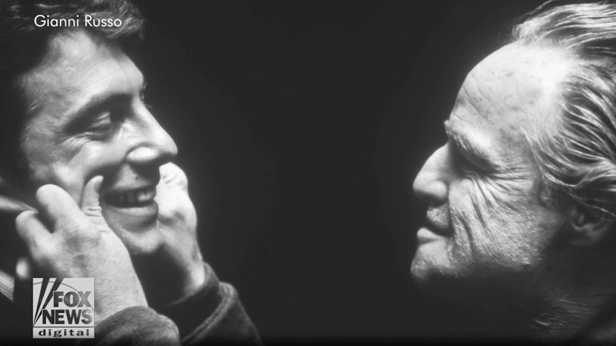 Джанни Руссо и Марлон Брандо / скриншот