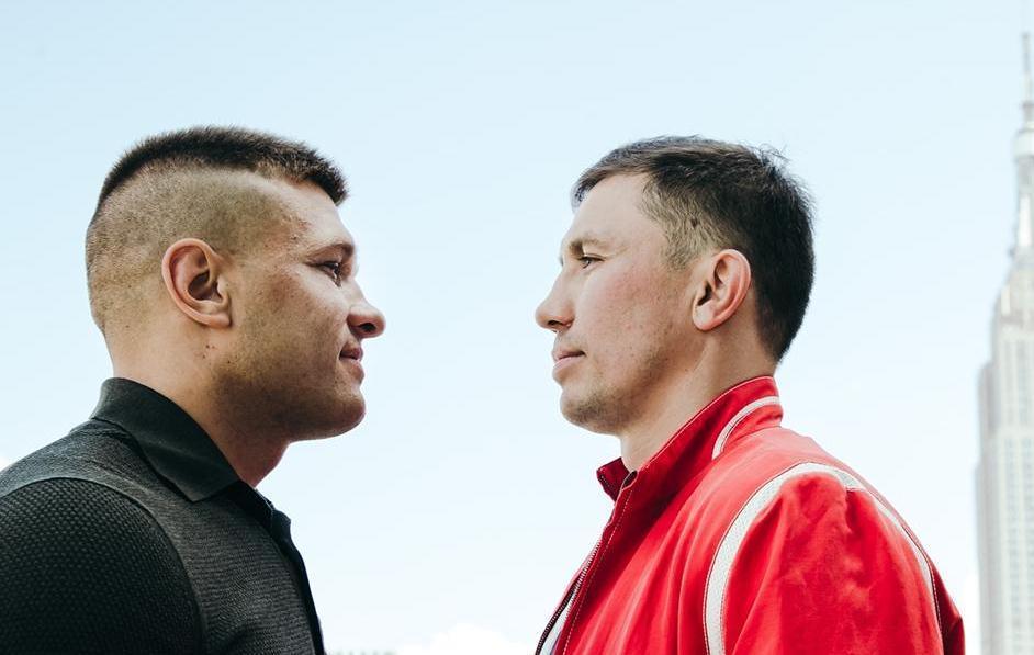 Сергій Дерев'янченко і Геннадій Головкін проведуть бій в Нью-Йорку / фото: twitter.com/DAZN_USA