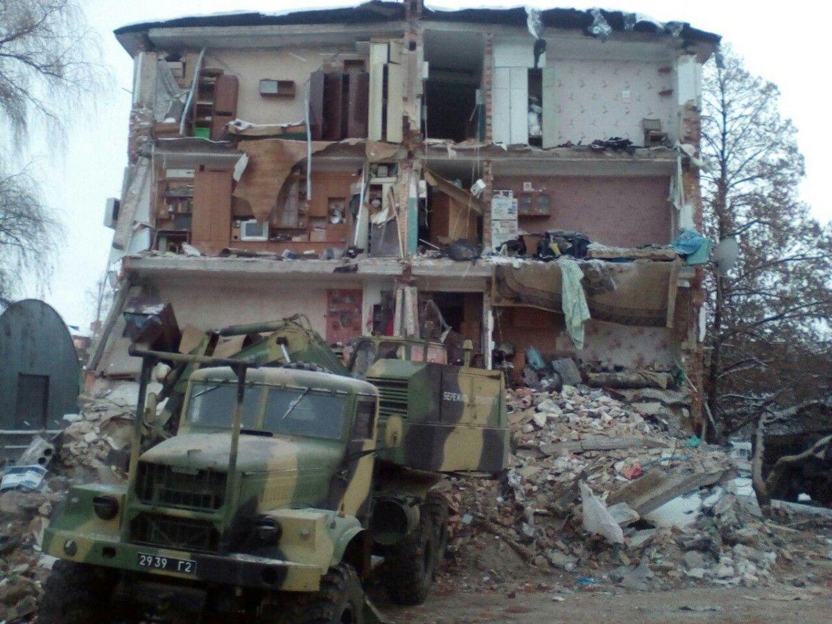 Збитки, завдані внаслідок обвалу, були оцінені у 27 мільйонів гривень / dsns.gov.ua