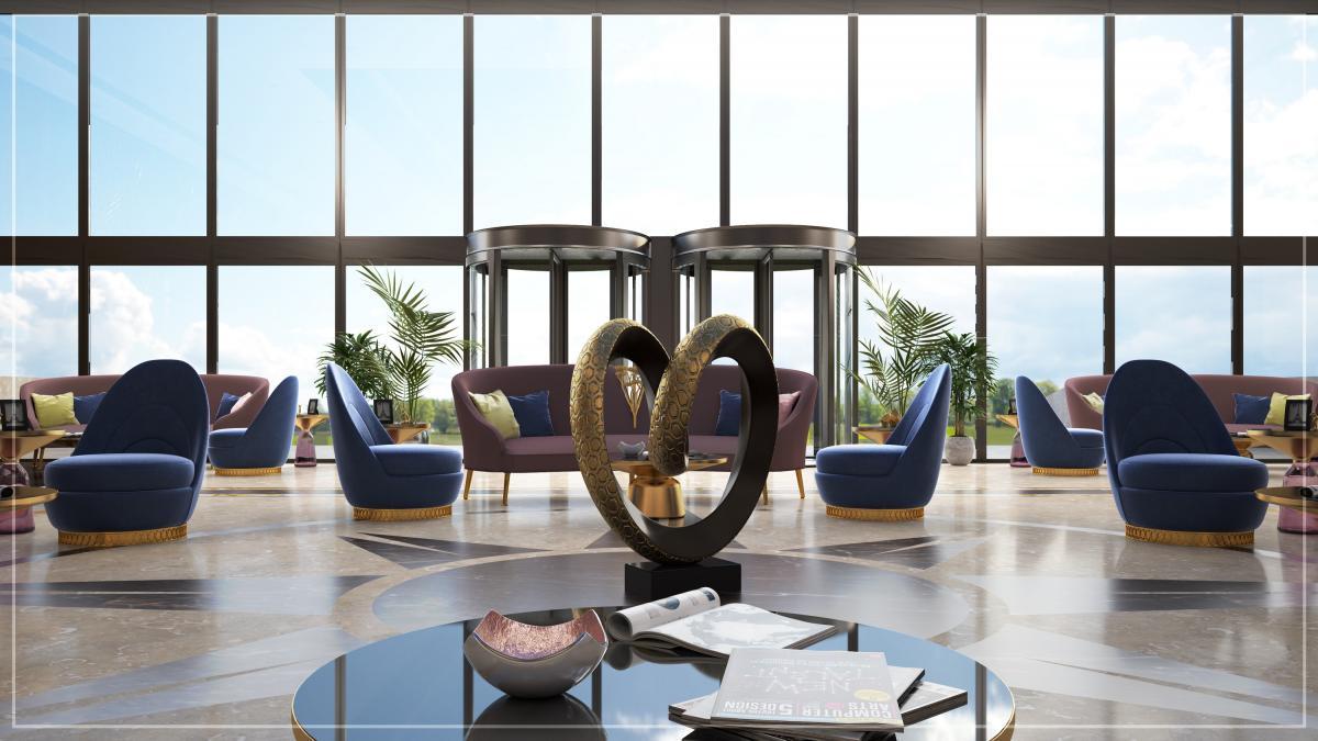 Конференц-центр в будущем отеле / Фото Rixos Hotel