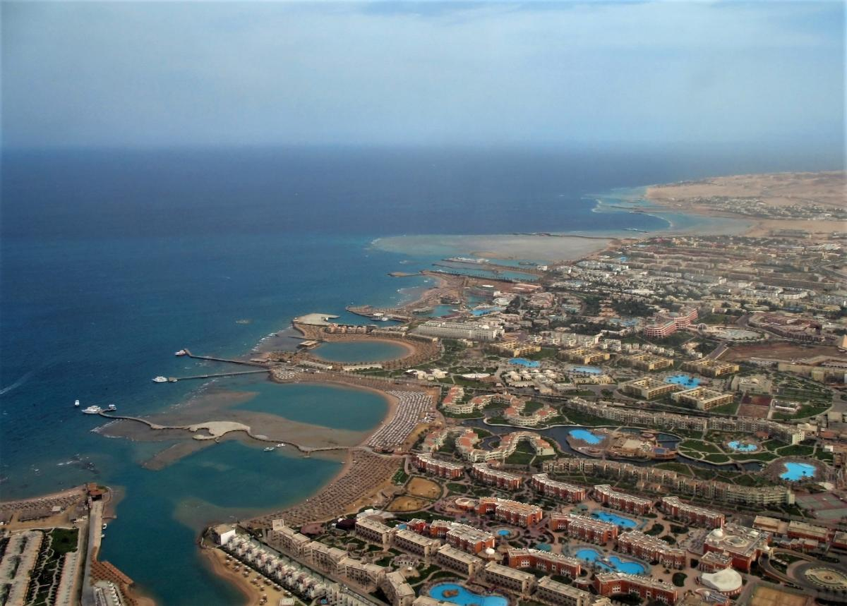 Побережье Красного моря около Хургады / Фото en.wikipedia.org/Marc Ryckaert