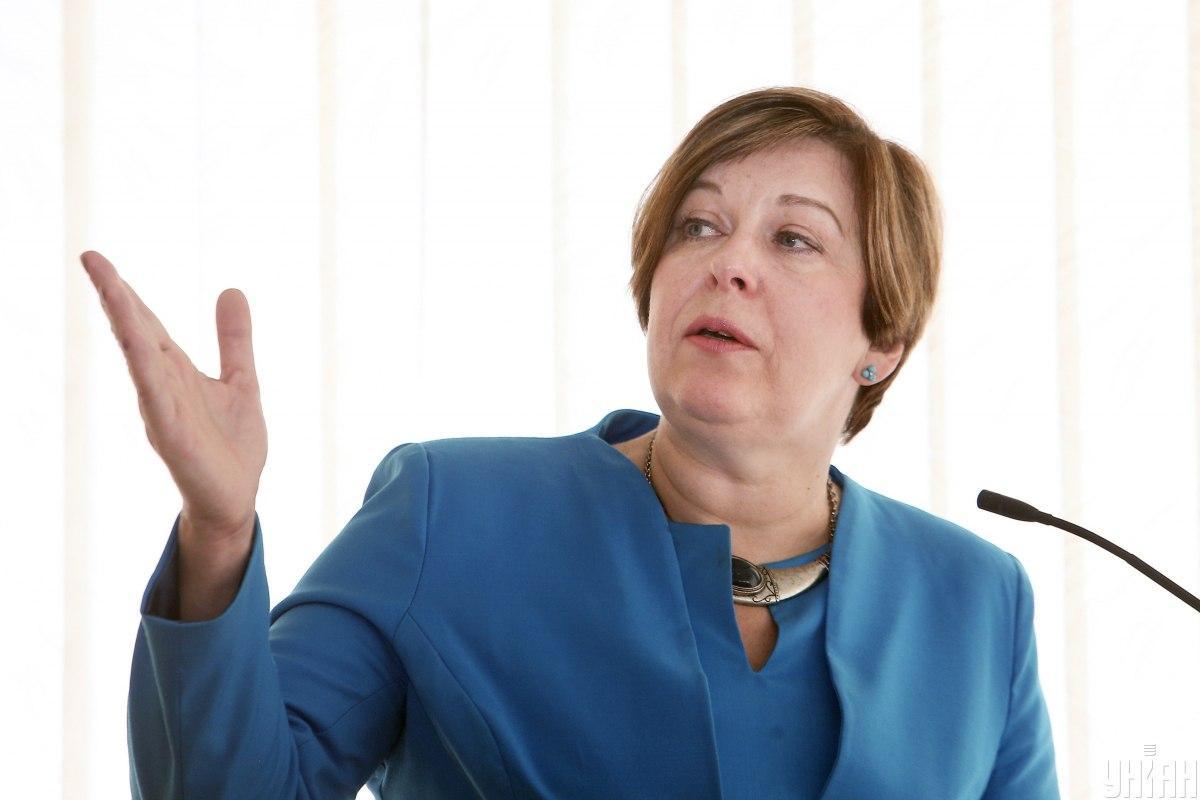 Ксения Ляпина возглавляла ГРС с января 2015 года / фото УНИАН